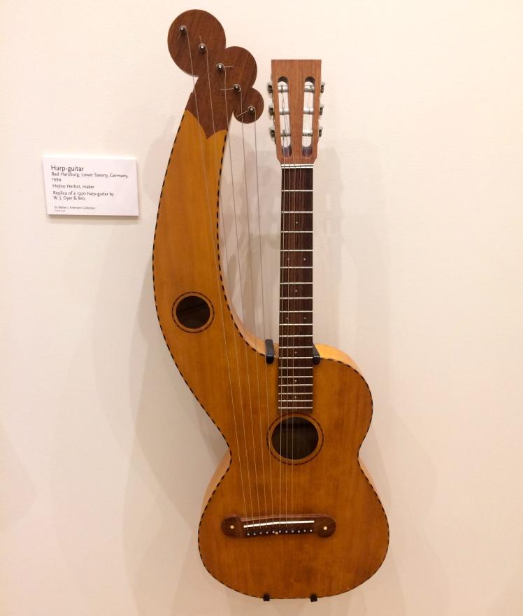 A German Harp-Guitar at MIM