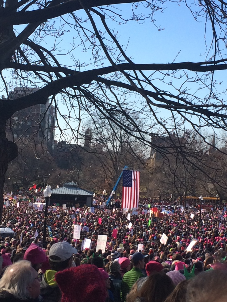 Women's March for America Rally.