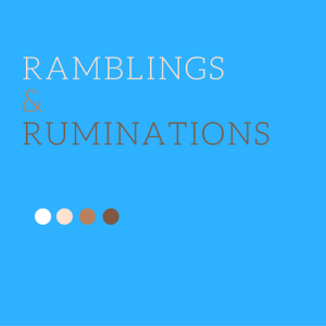 Ramblings & Ruminations Logo