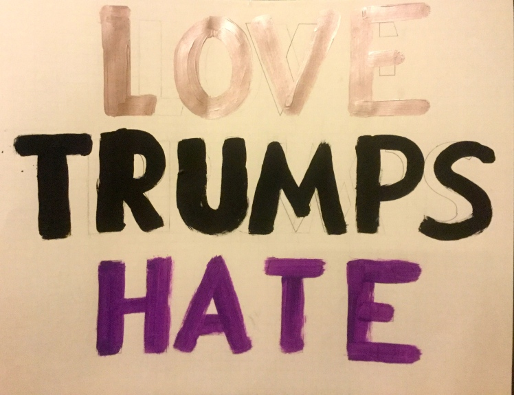 Love trumps hate.