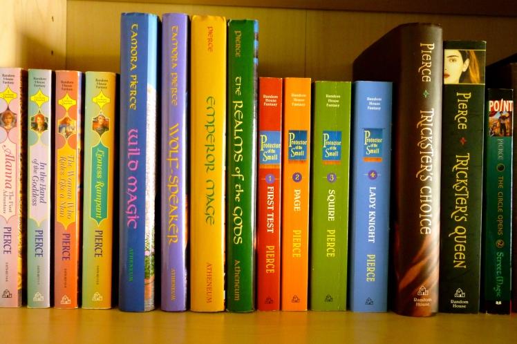 Tamora Pierce Books