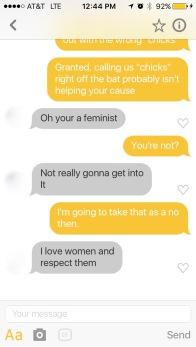 Bumble Conversation Part 2