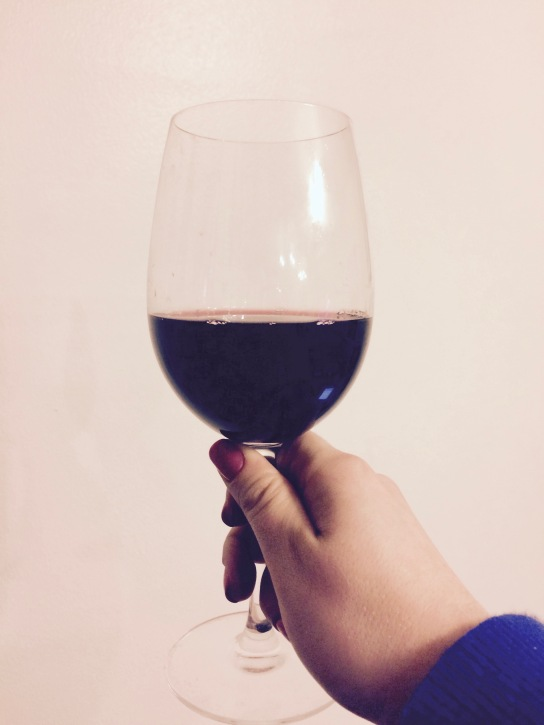A desperately need glass of Merlot.