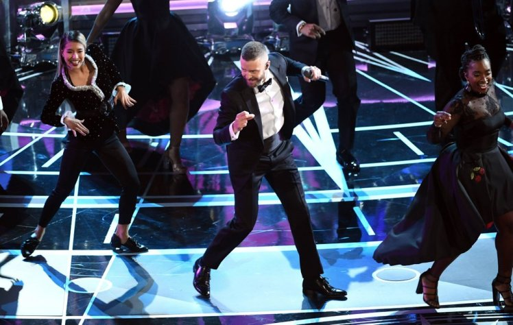 Justin Timberlake Screenshot Oscars 2017