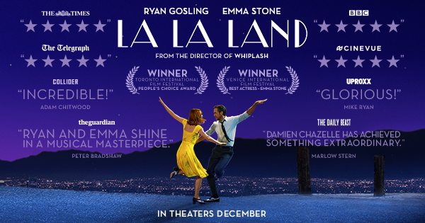 Copyright 2017 La La Land Movie
