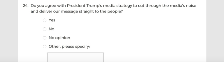 Mainstream Media Accountability Survey -- Question 24