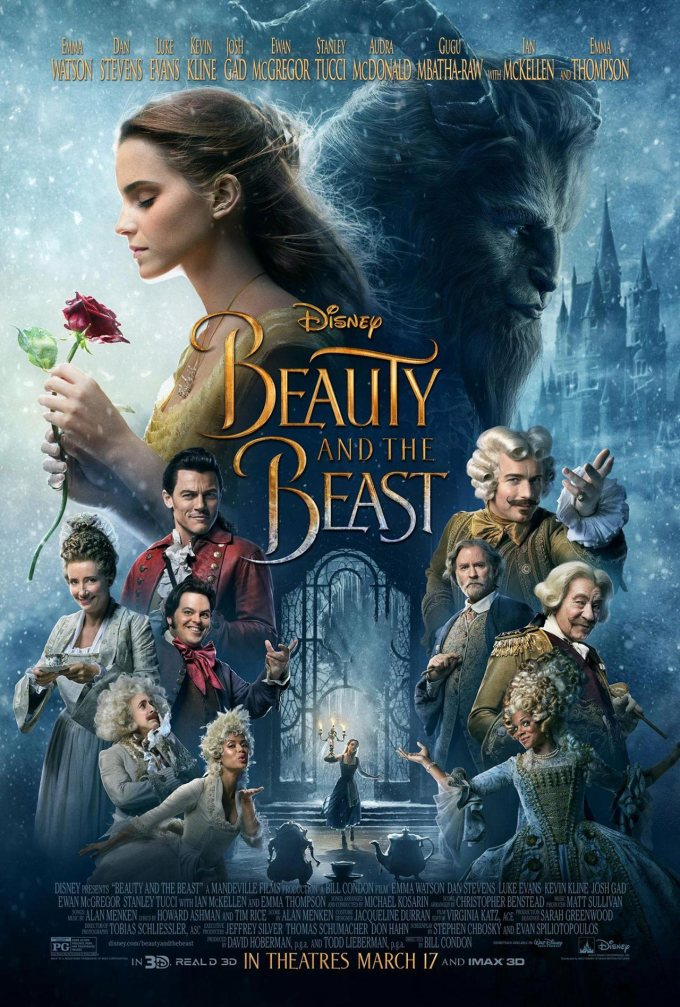 Beauty and the Beast Poster Copyright 2017 Disney Media
