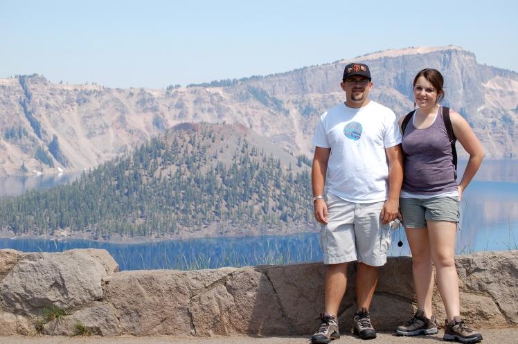 B and S at Crater Lake
