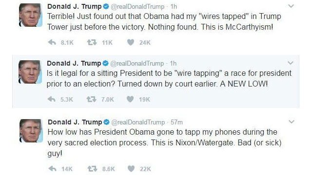 Trump Tweet Screenshot