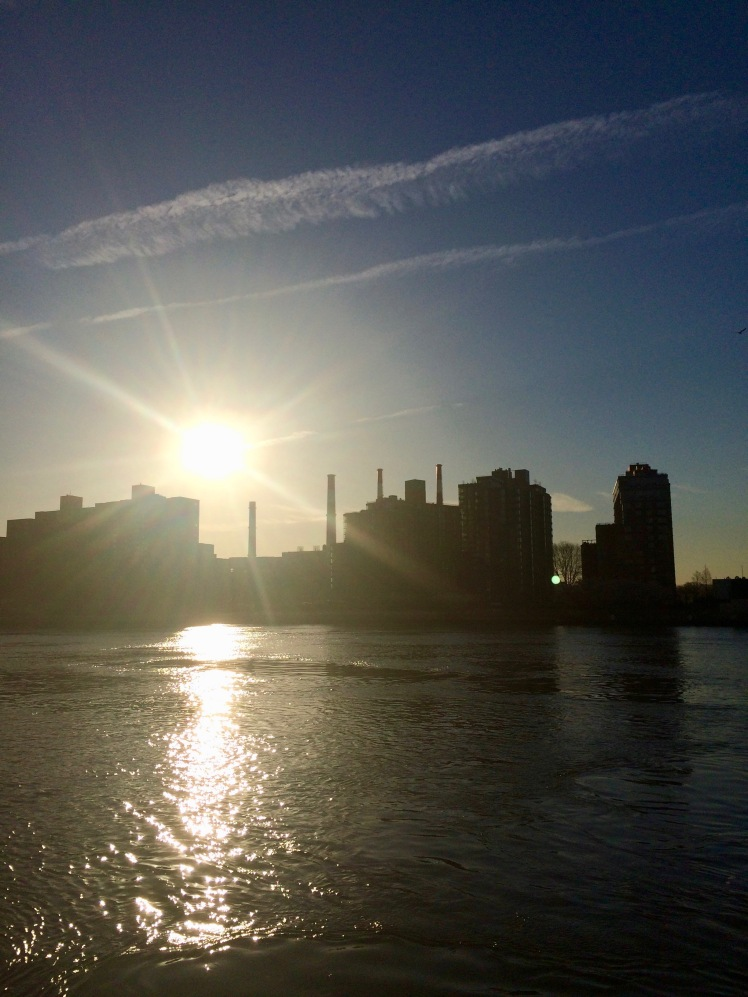 Sunshine over NYC